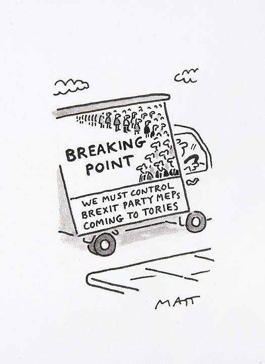 Breaking PointWe Must Control Brexit Party MEPs Coming to Tories