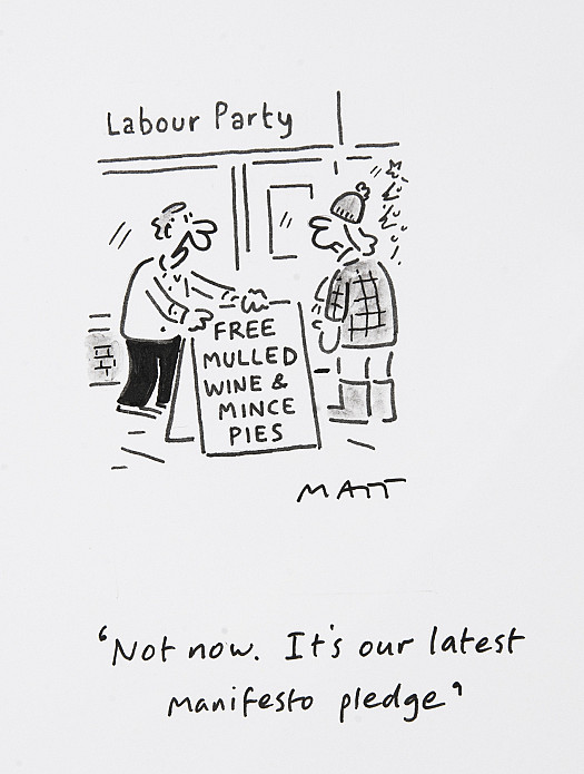 Not now. It's our latest manifesto pledge