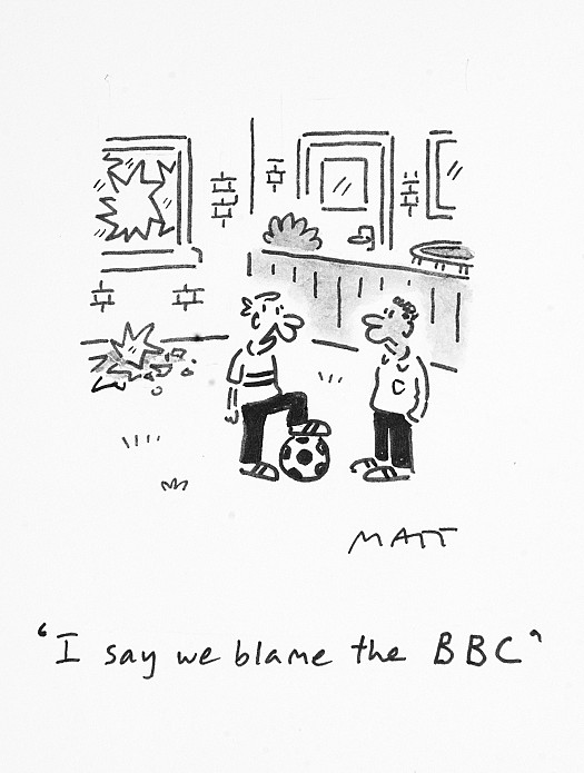 I say we blame the BBC