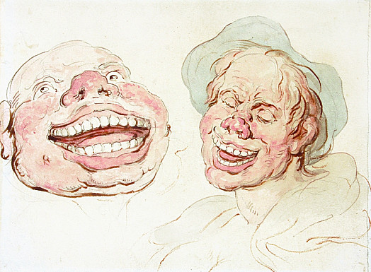 Laughing Grotesques