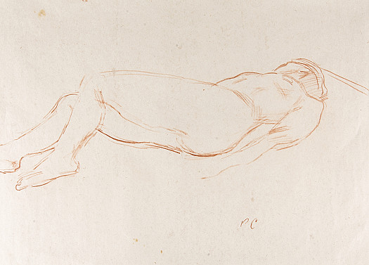 Reclining Nude, with Crossed Legs [I]