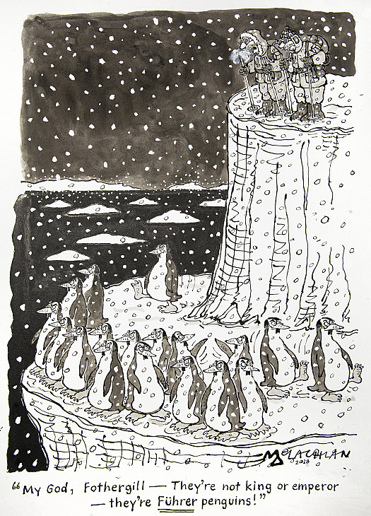 You Look My God, Fothergill - They're Not King or Emperor - They're Fuhrer Penguins!