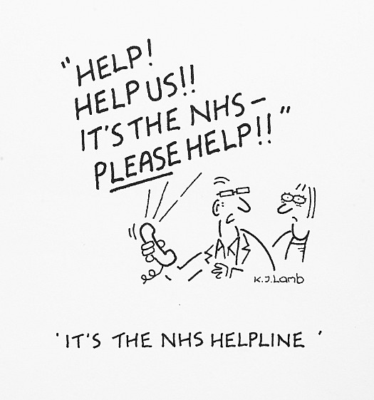It's the NHS Helpline