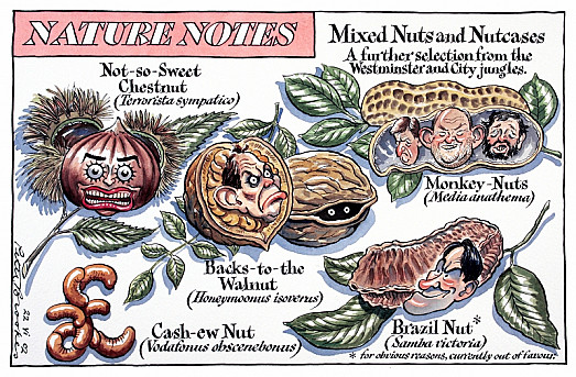 Mixed Nuts and Nutcases