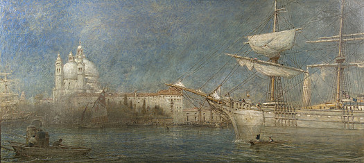 The Hardy Norseman at Venice