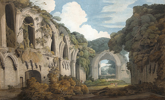 A View of Glastonbury Abbey