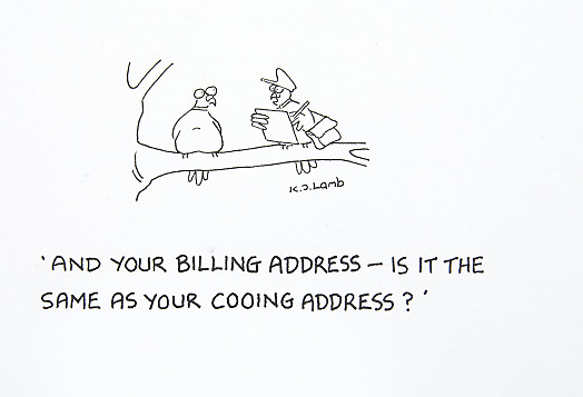 And your billing address - is it the same as your cooing address?