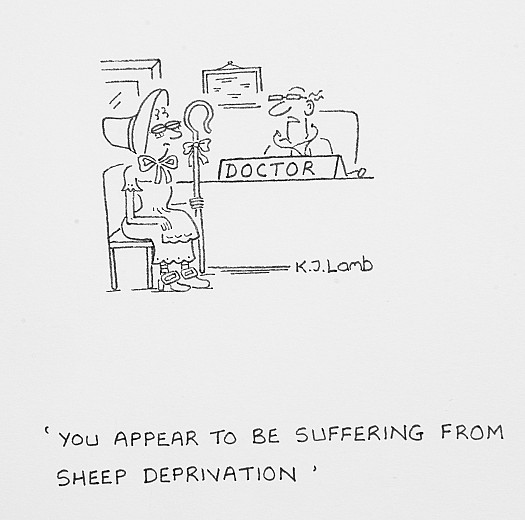 You appear to be suffering from sheep deprivation