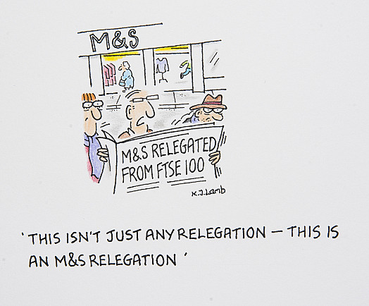 This isn't just any relegation - this is an M&S relegation