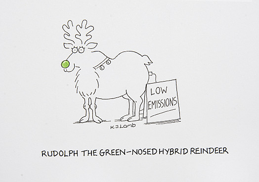 Rudolph the Green-Nosed Reindeer