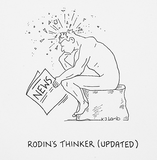 Rodin's Thinker (Updated)