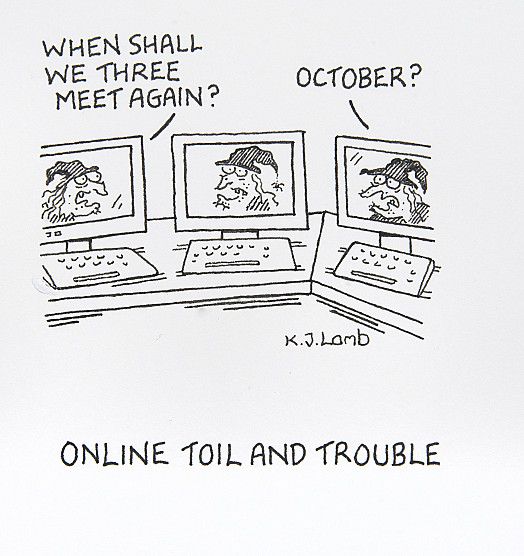 Online Toil and Trouble