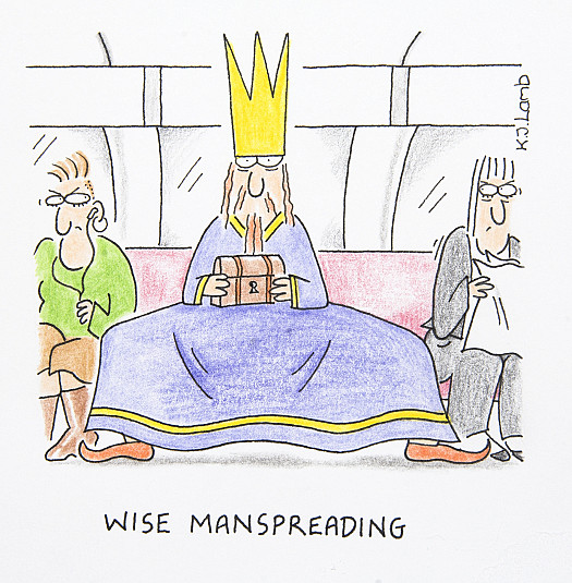 Wise Manspreading