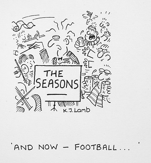 And now - Football ...