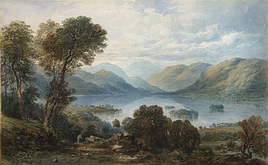 Derwent Water from the Castle Head