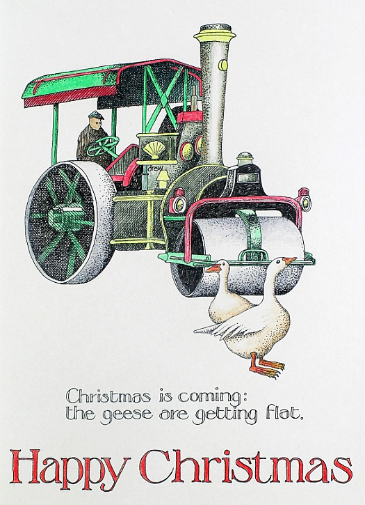 Christmas Is Coming: the Geese Are Getting Flat