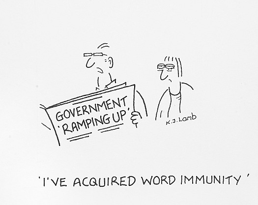 I've acquired word immunity