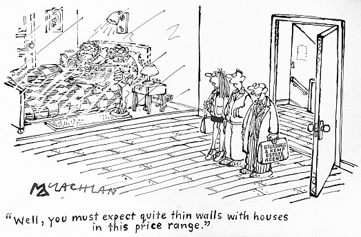 Well, You Must Expect Quite Thin Walls with Houses In this Price Range