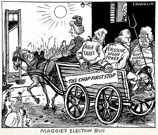 Maggie's Election Bus