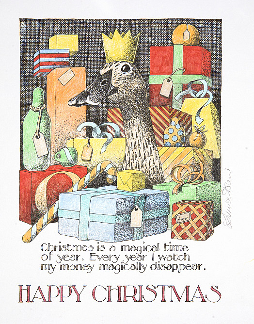 Christmas is a magical time of year. Every year I watch my money magically disappear