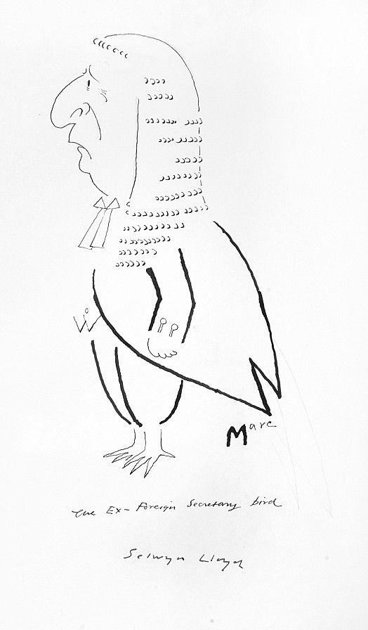 The Ex-Foreign Secretary Bird