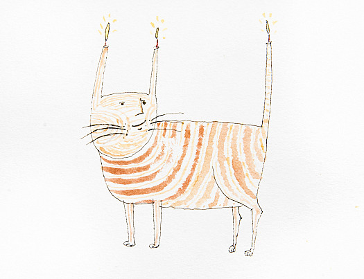 The Candlestick Cat