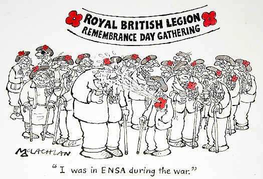 I Was In Ensa During the War