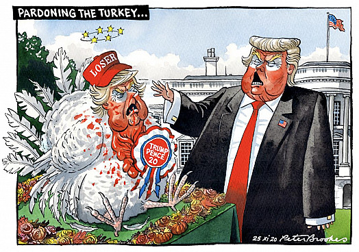 Pardoning the Turkey ...