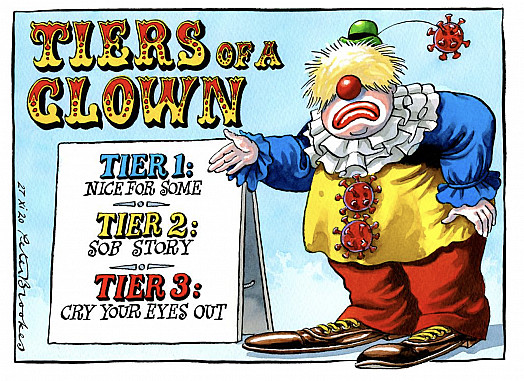 Tiers of a Clown