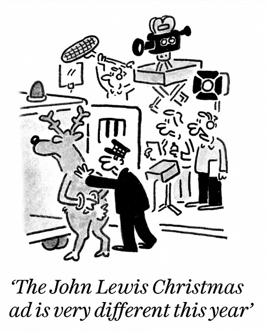 The John Lewis Christmas ad is very different this year