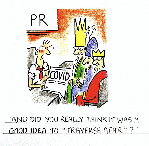 And did you really think it was a good idea to 'traverse afar'?