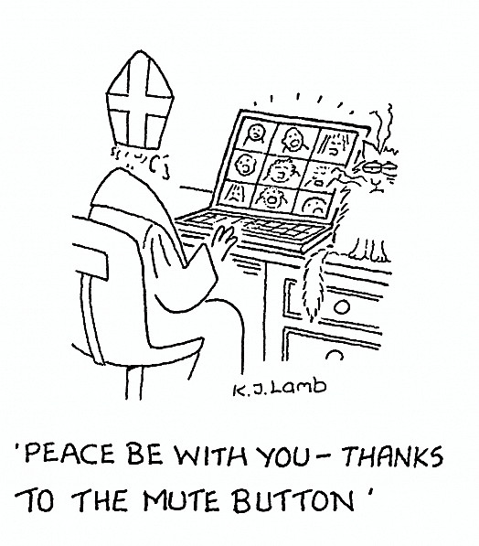 Peace be with you - thanks to the mute button