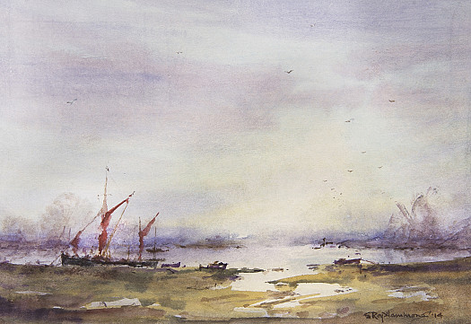 Winter Haze, Tollesbury