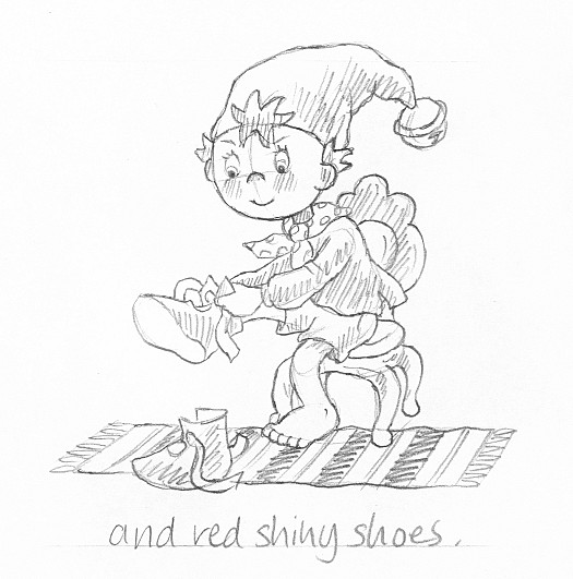 And Red Shiny Shoes