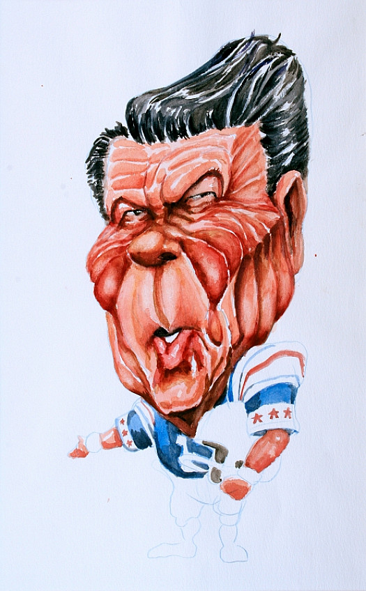 Ronald Reagan: Footballer