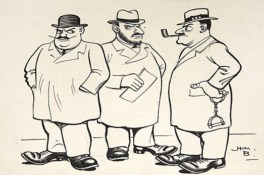 'The Yard'The best detectives – Edgar Wallace's – are always Scotland Yard Men
