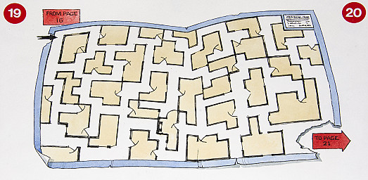 A maze of rooms