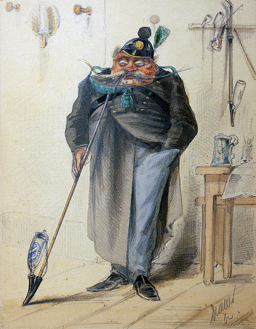 Baviere. 1862. Chasseur-A-Pied