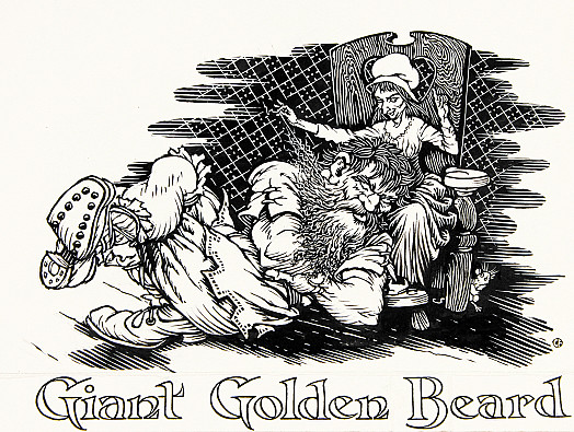 Giant Golden Beard