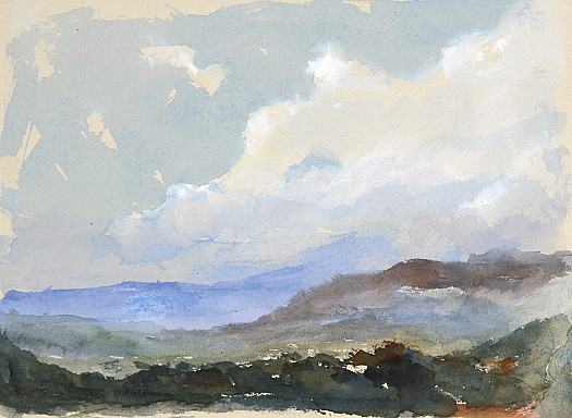 Morning Haze from Canebieres, Le Muy, France