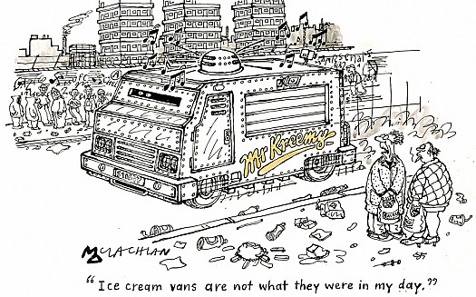 """Ice Cream Vans Are Not What They Were In My Day."""