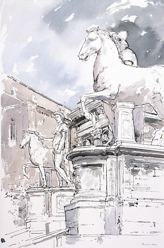 Castor and Pollux, Capitoline Hill, Rome