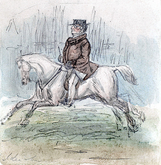 Lord Scamperdale as He Appeared In His 'Swell' Clothes