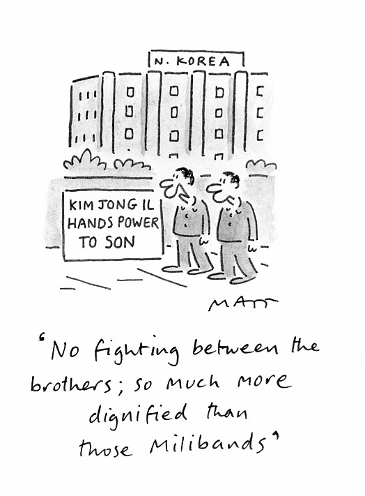 No Fighting Between the Brothers; so Much More Dignified than Those Milibands