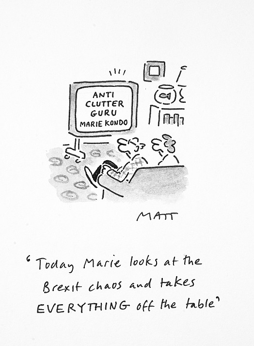 Today Marie Looks At the Brexit Chaos and Takes Everything Off the Table