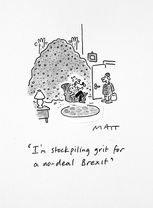 I'm Stockpiling Grit For a No-Deal Brexit