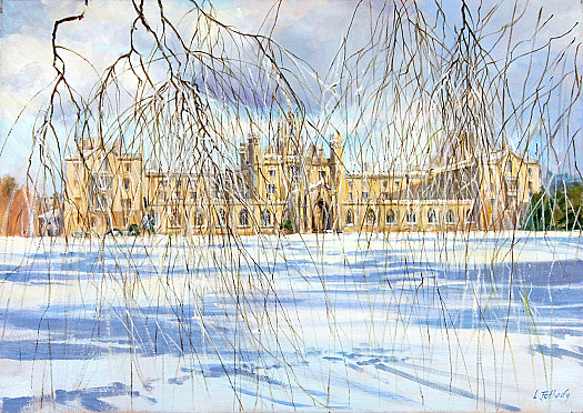 Snow, St John's College, Cambridge