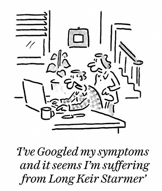I've googled my symptoms and it seems I'm suffered from Long Keir Starmer