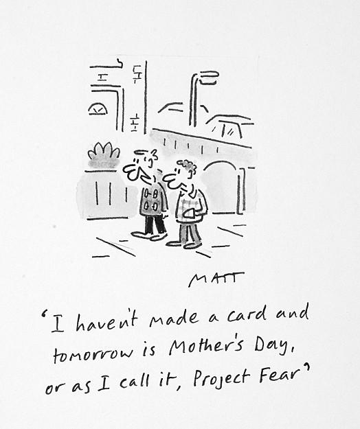 I haven't made a card and tomorrow is Mother's Day, or as I call it, Project Fear