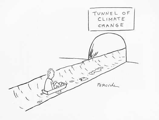 Tunnel of Climate Change